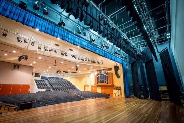 SH Auditorium whole room